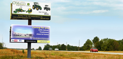 Kansas Outdoor Advertising billboards